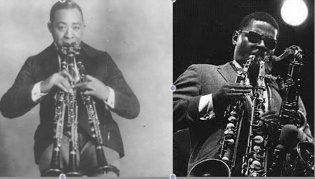 While We're At It, Rahsaan Roland Kirk (Left) Stole Wilbur Sweatman's Act!