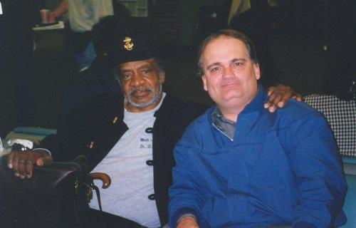 Donald Byrd and Tom Smith (photo courtesy of Tom Smith)
