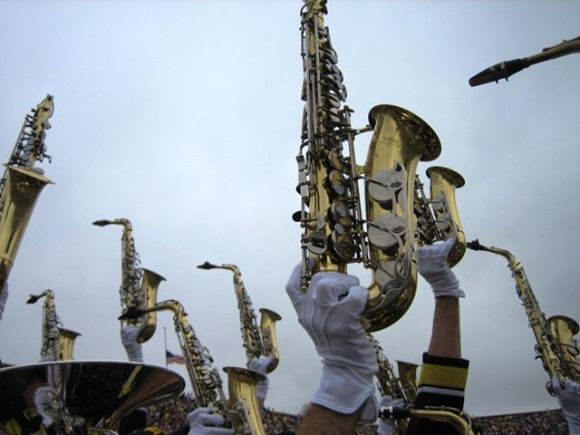 Thomas County Central High School Saxophone Section