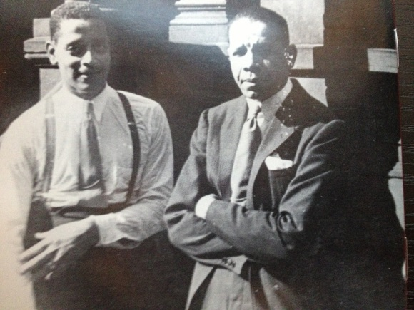 Buster Bailey (left) and Red Allen