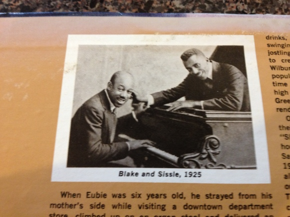 Noble Sissle (left) with Eubie Blake