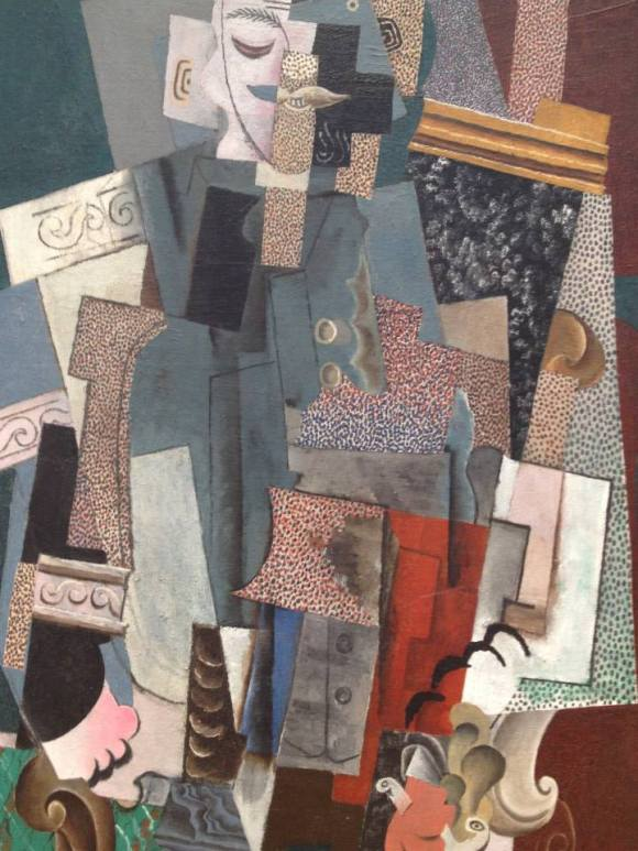 Picasso, Man With A Pipe (1915), Art Institute of Chicago.