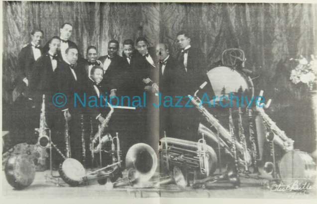 Charlie Johnson band pic from Storyville 75